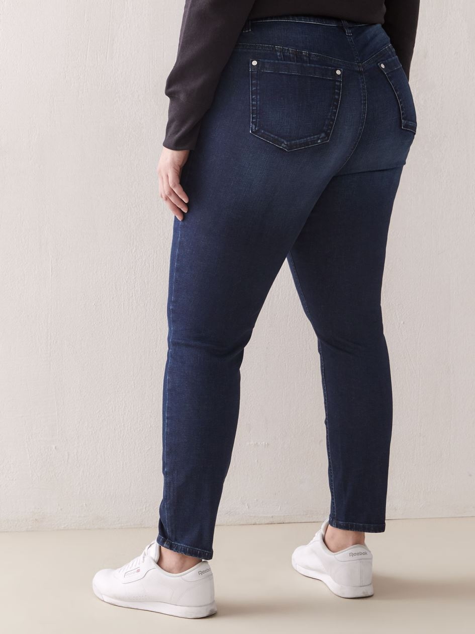 Curvy Fit, Skinny Denim Jegging - Addition Elle