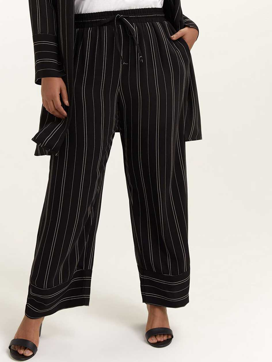 Striped Wide Leg Pant - In Every Story