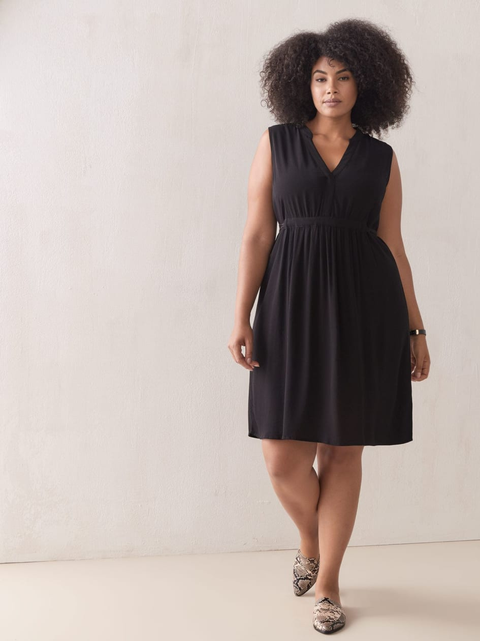 Black Swing Dress - Addition Elle