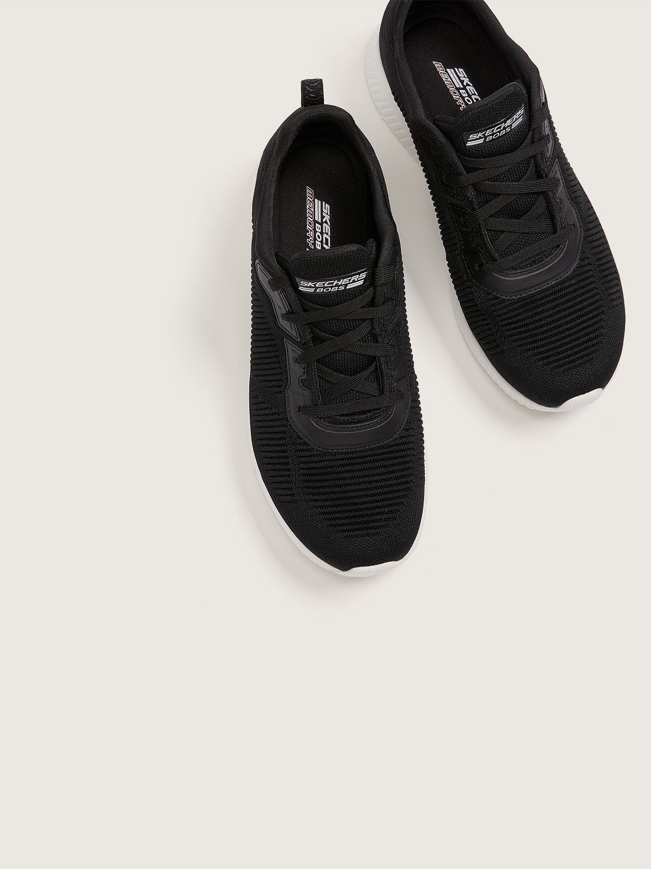 Wide Bobs Squad Talk Sneaker - Skechers
