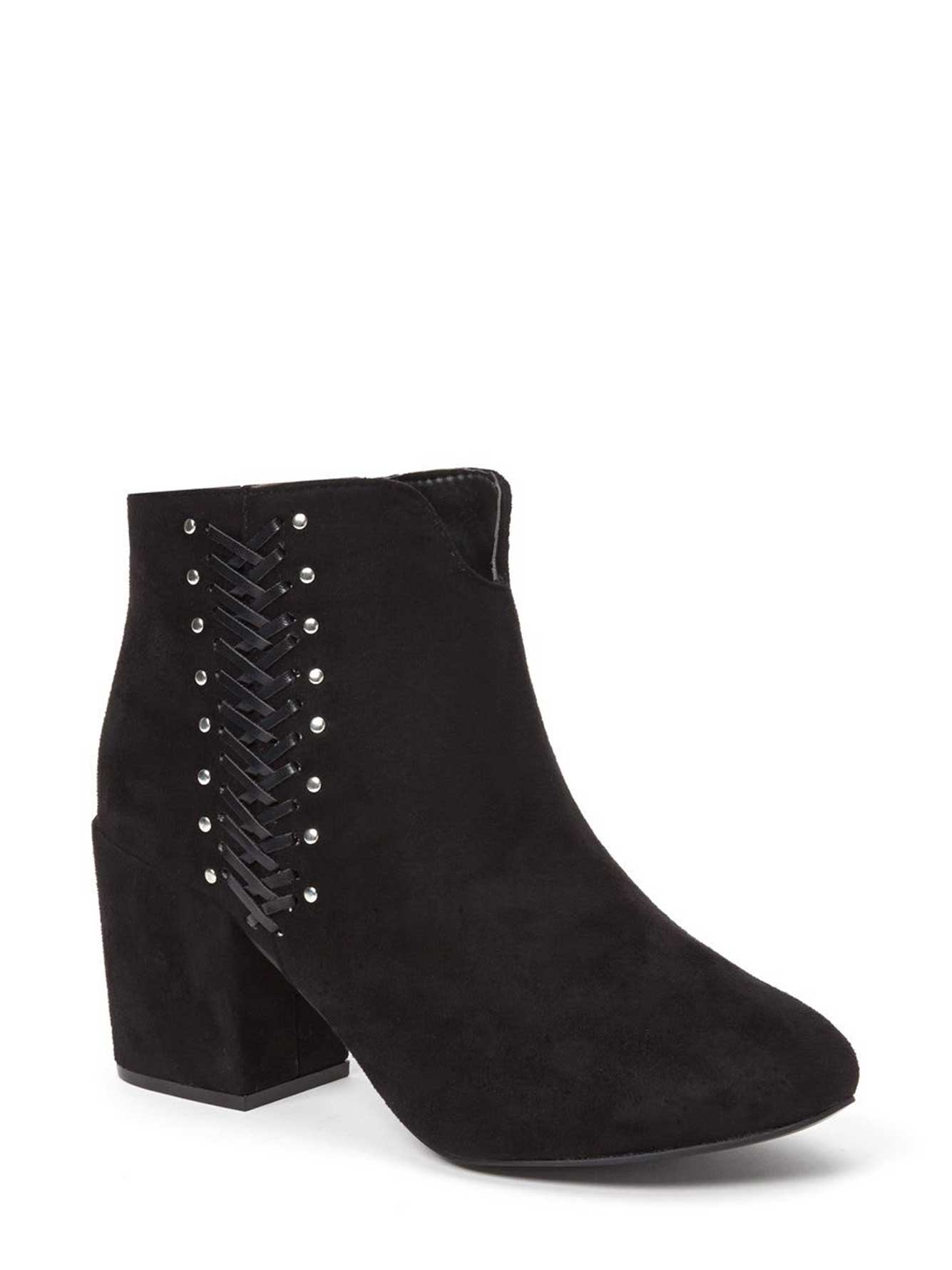 Wide-Width Booties with Studs