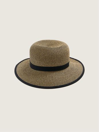 Two Tone Straw Hat - Canadian Hat