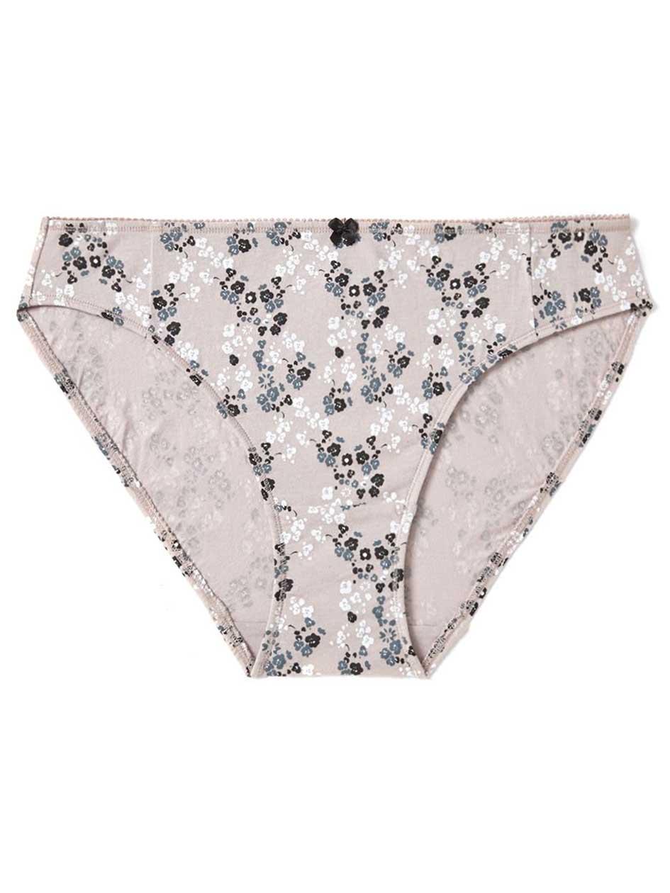 Ti Voglio Printed Cotton Bikini Panty