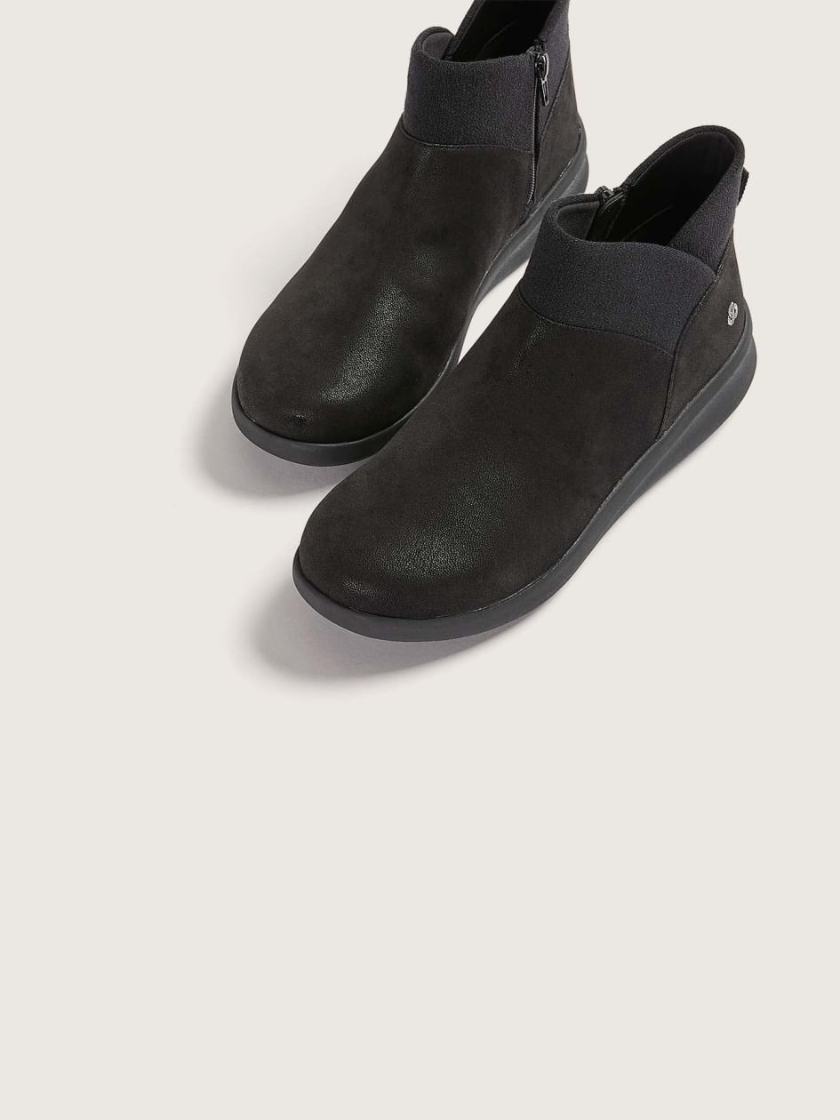 Wide Silian Dusk Combo Ankle Booties - Clarks