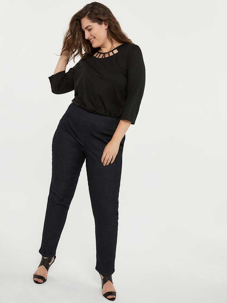 2a4bed8129d Petite Savvy Straight Leg Jean - d C JEANS