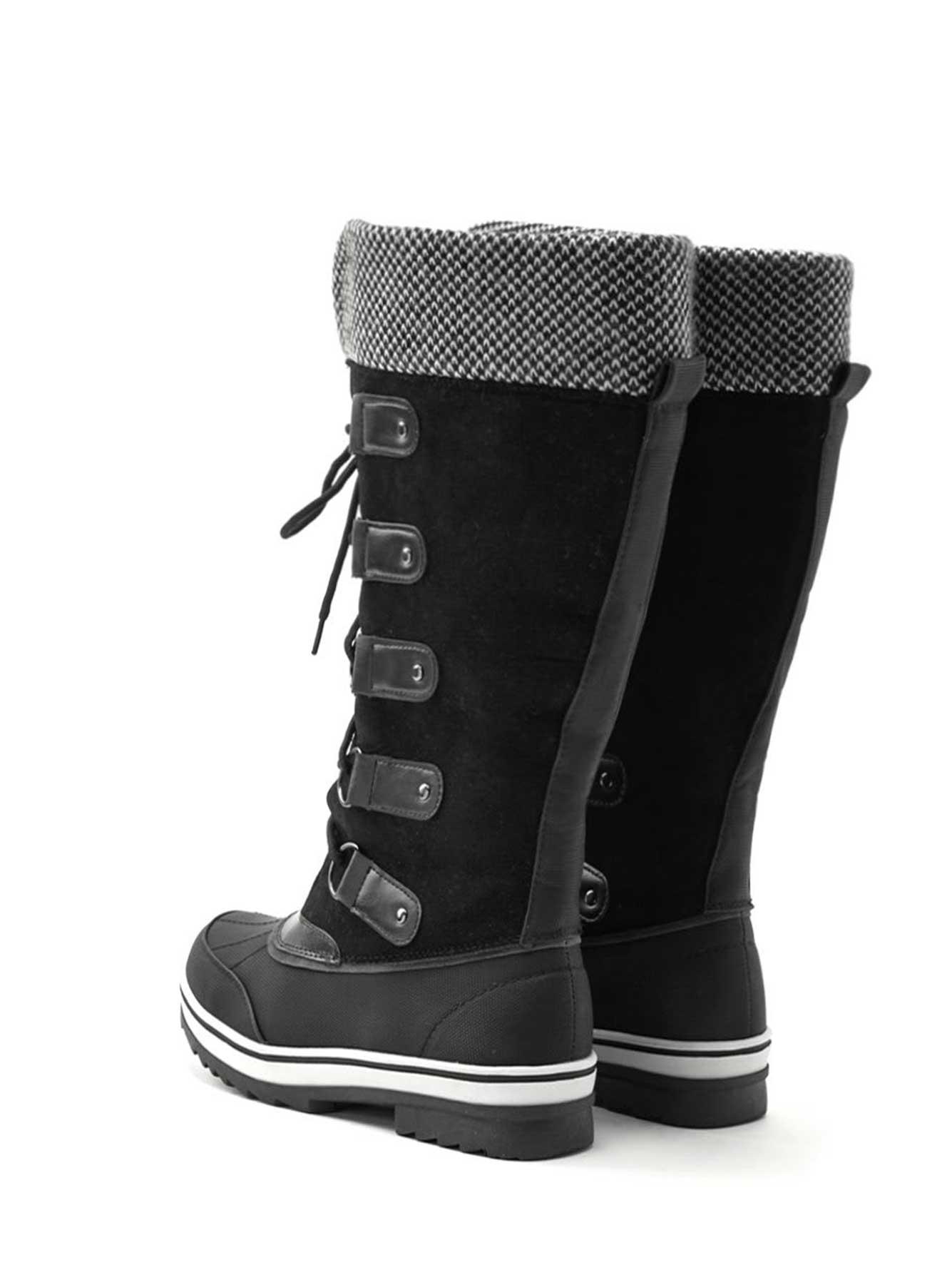 bottes d'hiver hautes, pieds larges | penningtons