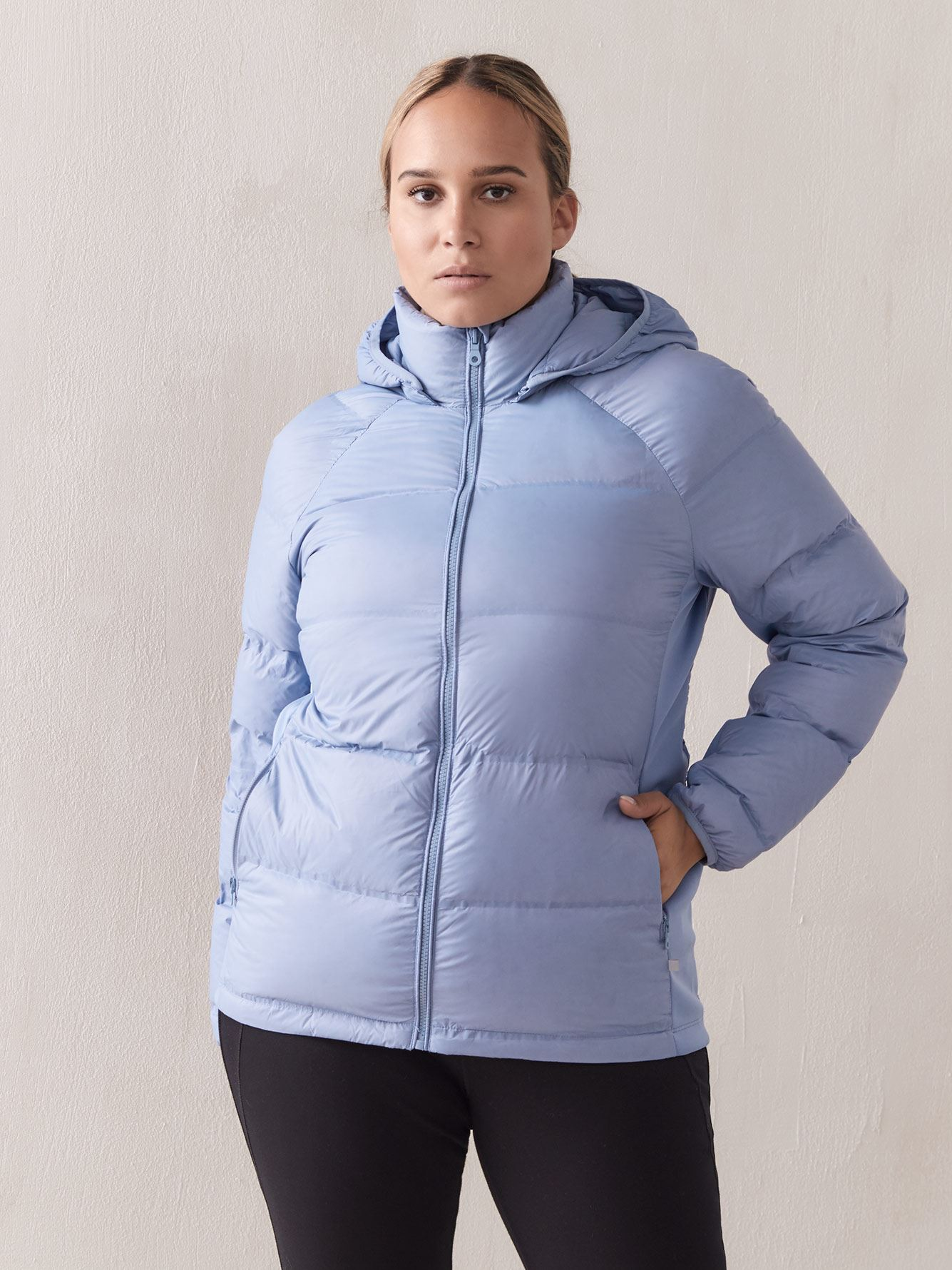 Manteau compressible en duvet - Addition Elle