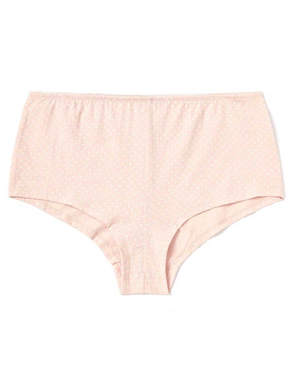 Ti Voglio Printed Cotton Boyshort Panty