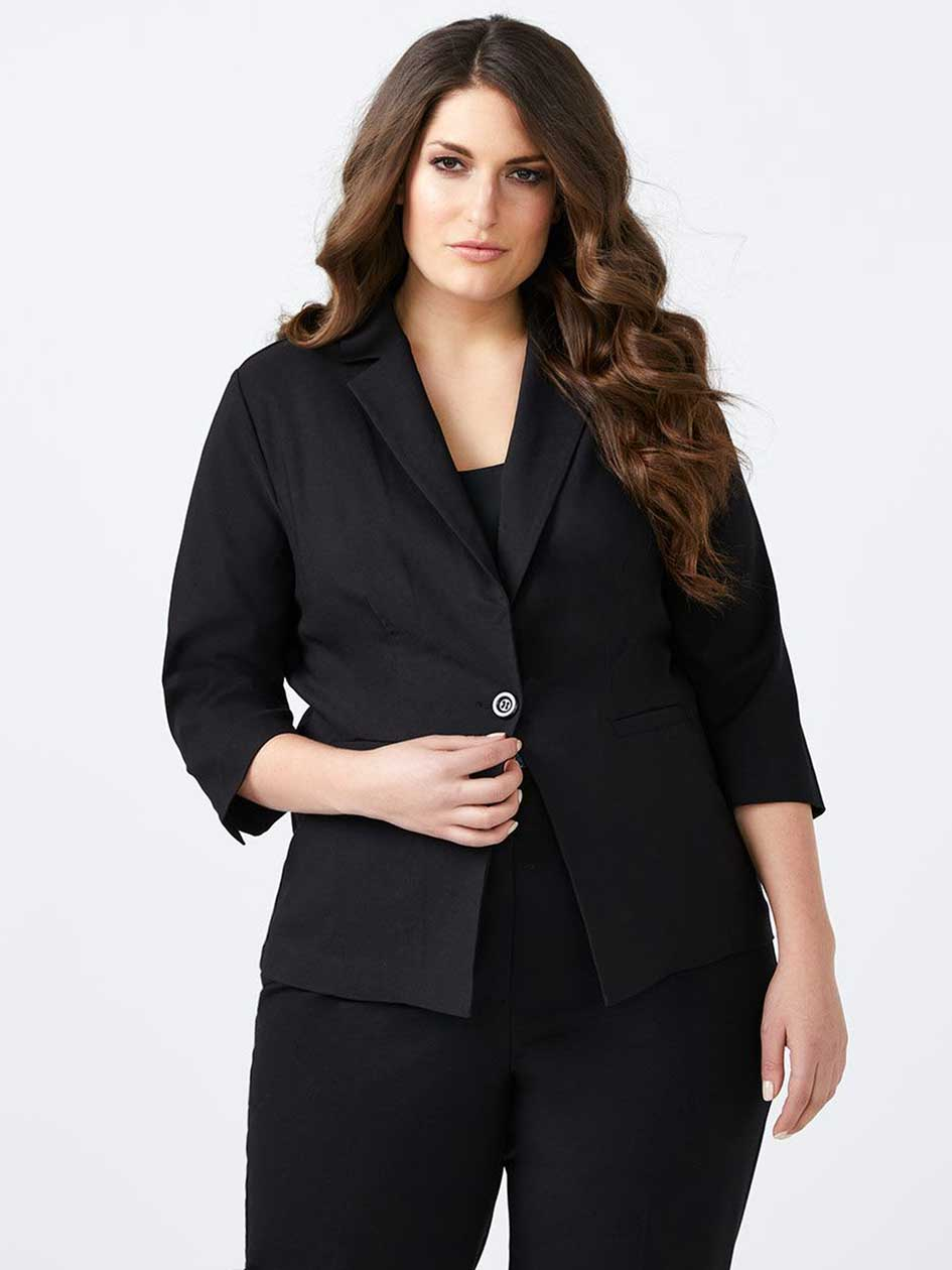Blazer with 3/4 Sleeves - In Every Story