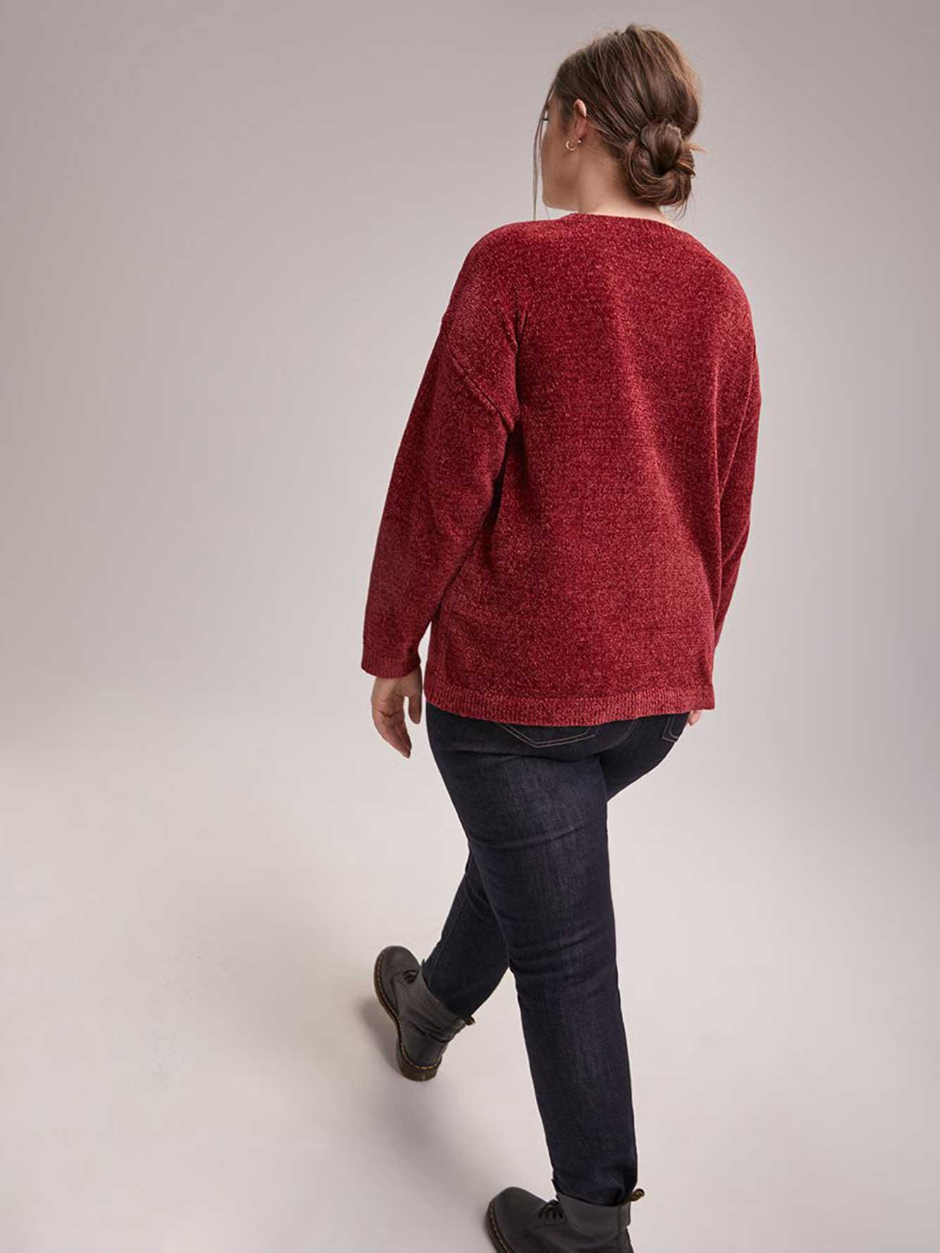 Sequins Knit Sweater - d/C JEANS