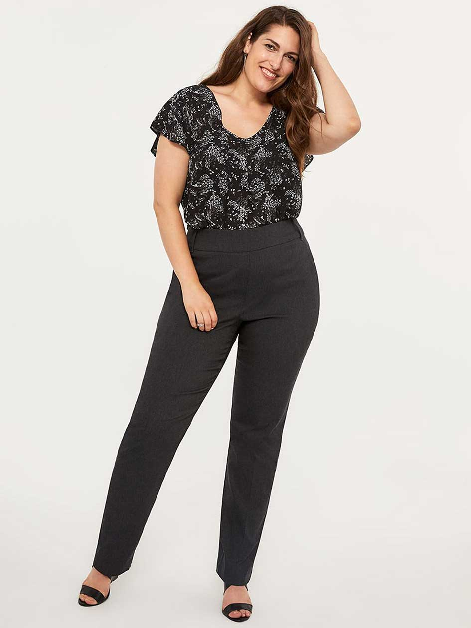 Savvy Soft Touch Straight Leg Pant - In Every Story