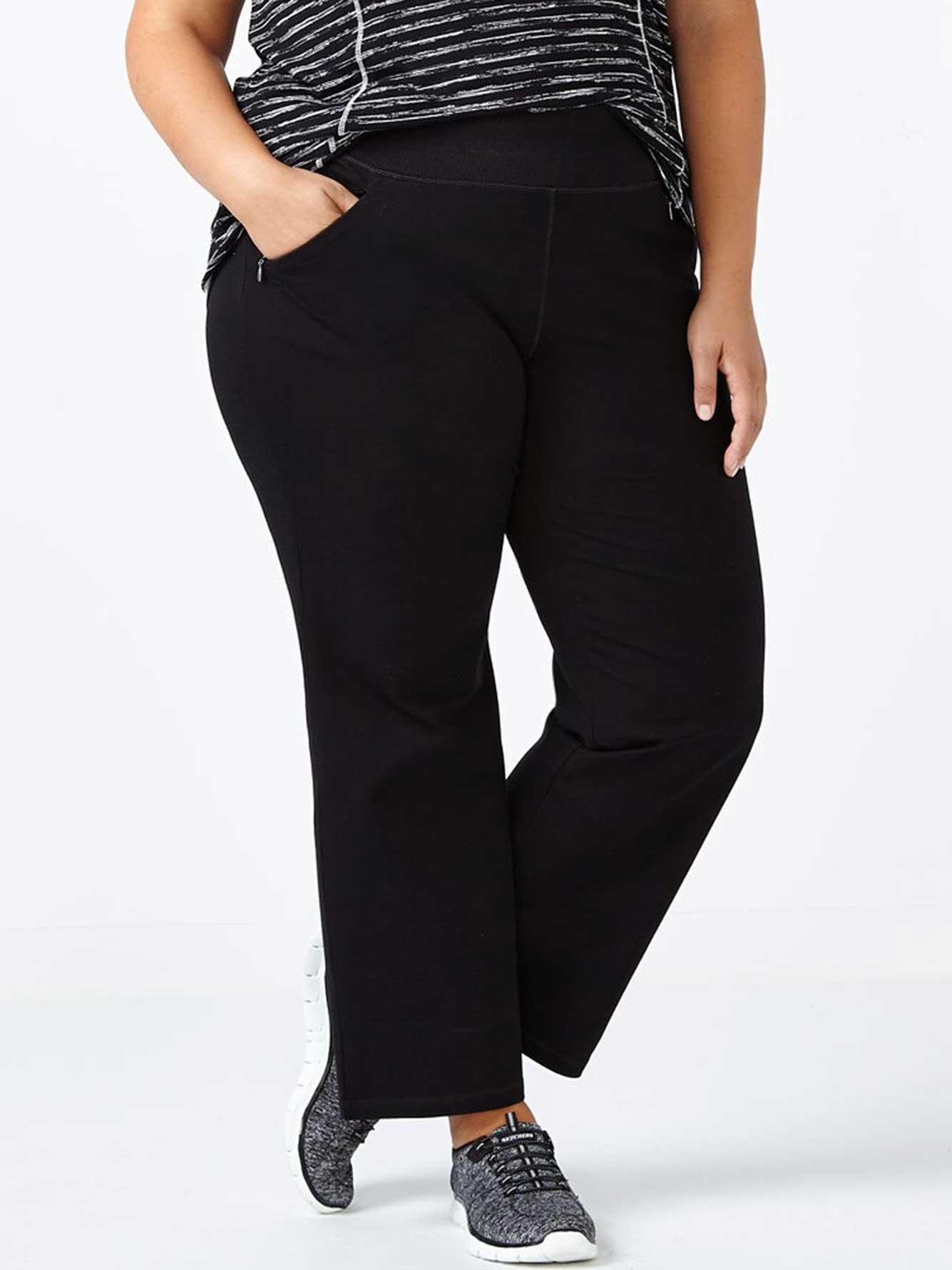 85f7b58c5c9 Essentials - Petite Plus-Size Basic Relaxed Pant