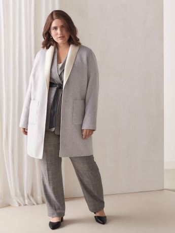 Reversible Duster Coat - Addition Elle