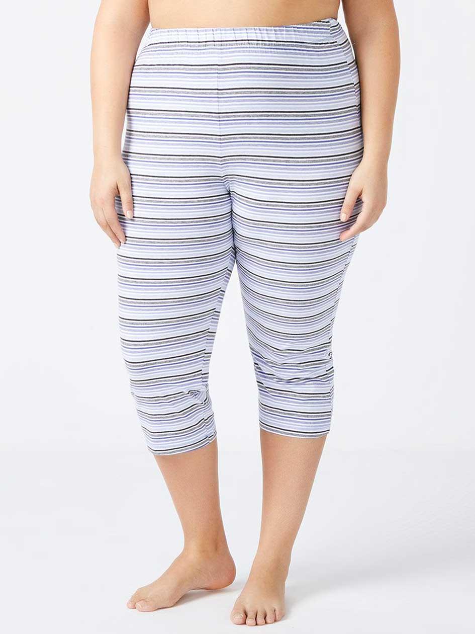 Striped PJ Capri - ti Voglio