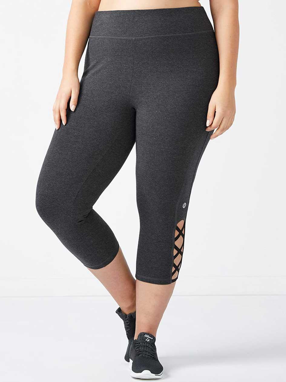 Essentials - Plus-Size Capri Legging