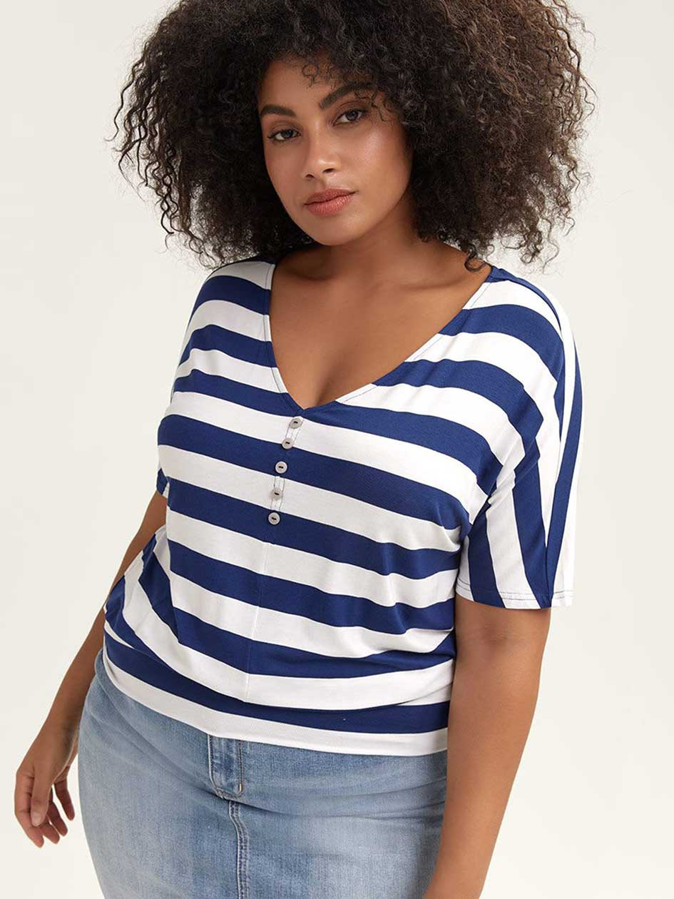 63438f54f688f3 New Plus Size Tops, Tees & More| New Arrivals | Penningtons