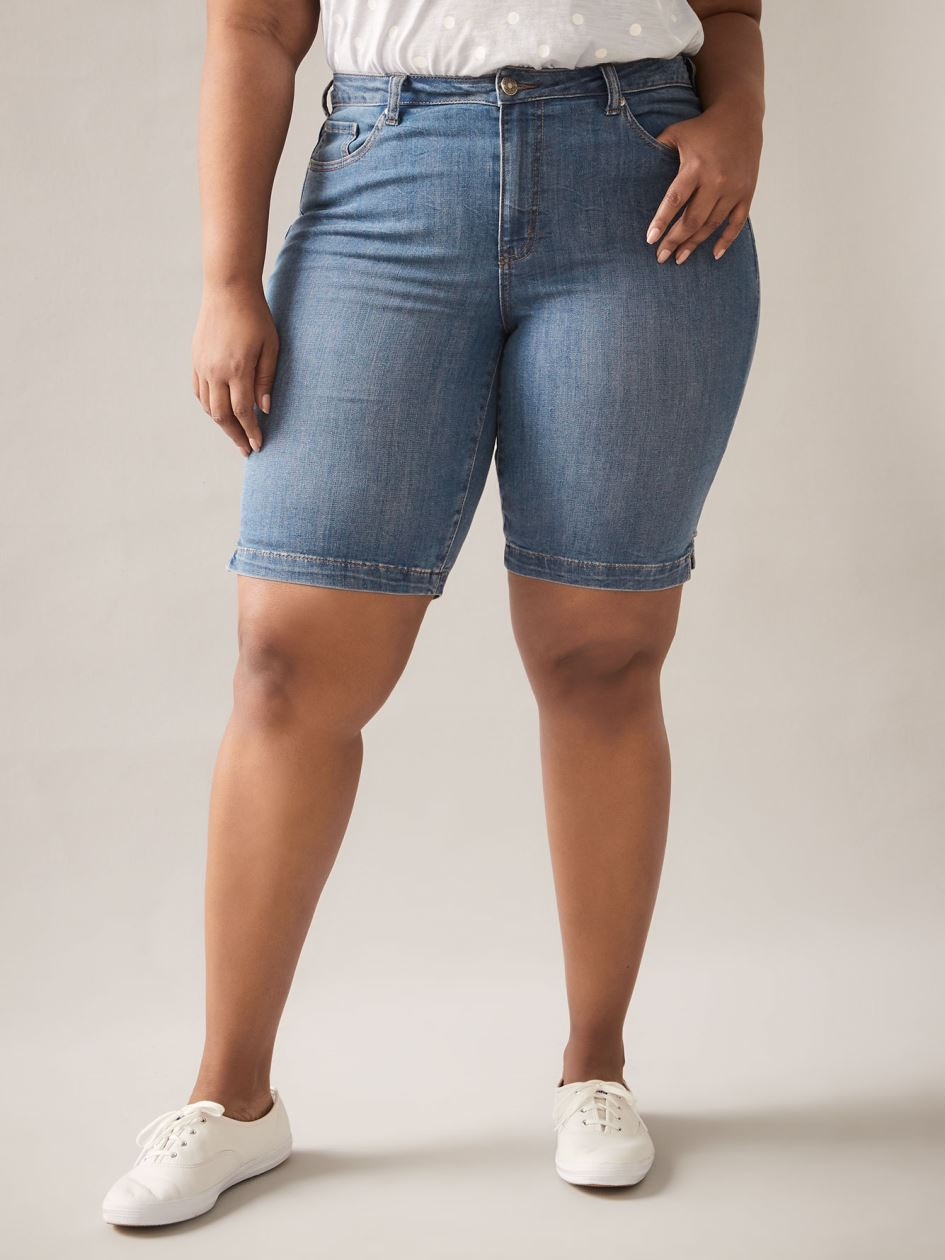 Blue Jean Bermuda Shorts - In Every Story