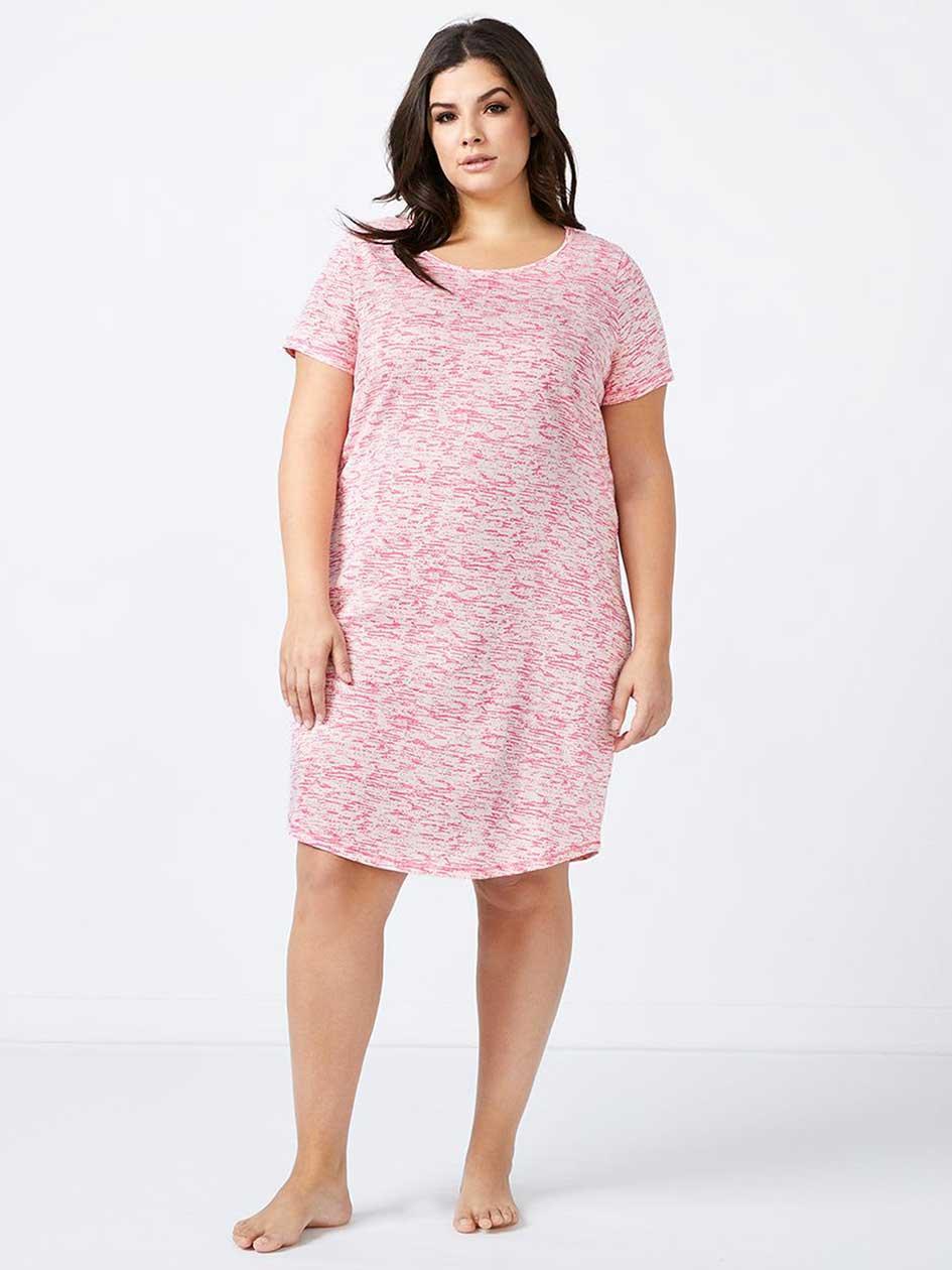 Ti Voglio - Printed Cotton Sleepshirt