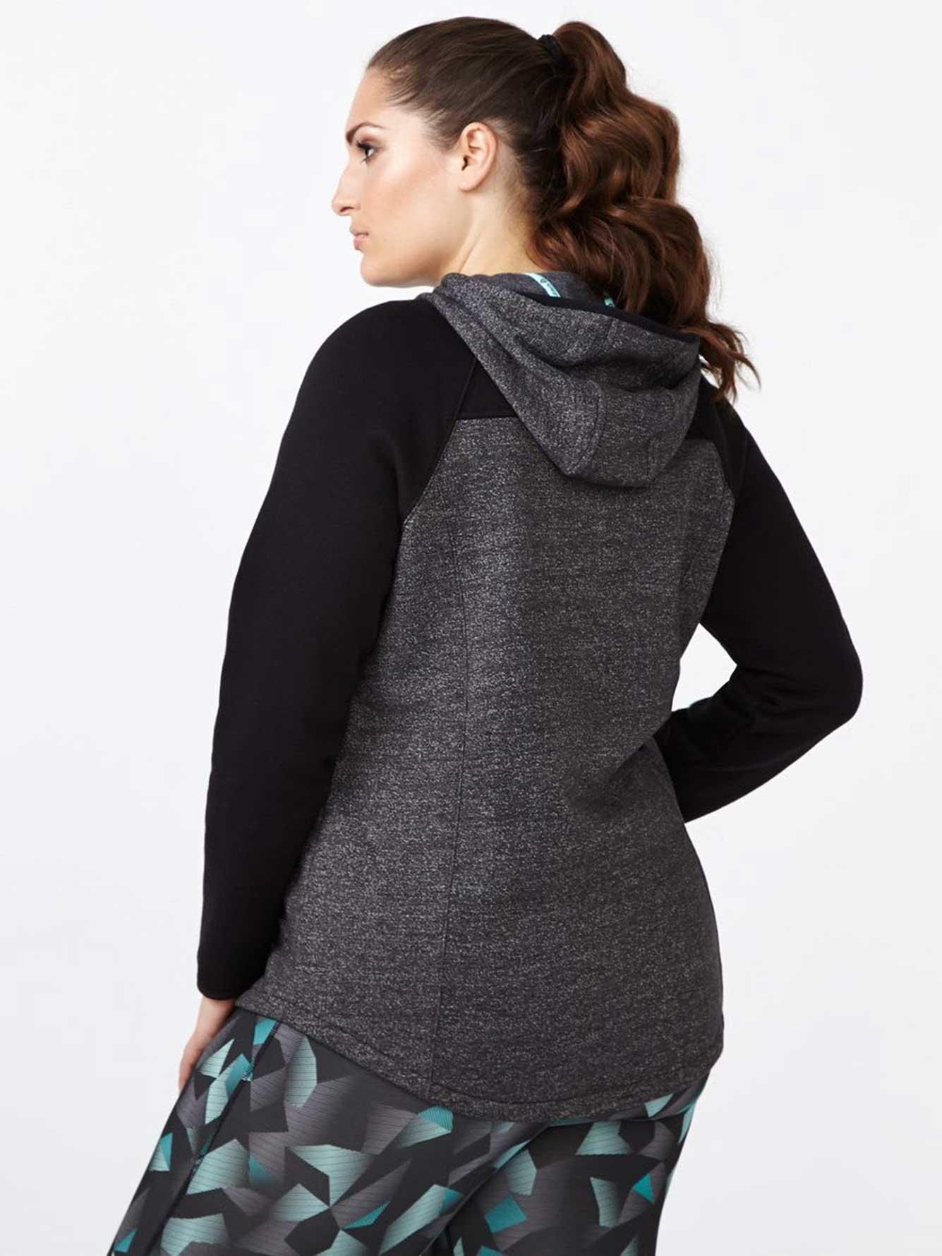 40db37dc530 Essentials - Plus-Size Fleece Zip Up Hoodie