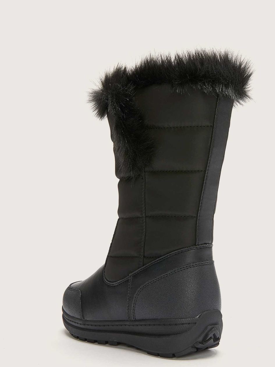Wide Mid-Calf Waterproof Winter Boot - Addition Elle