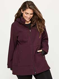 Plus-Size Soft Shell Jacket - ActiveZone