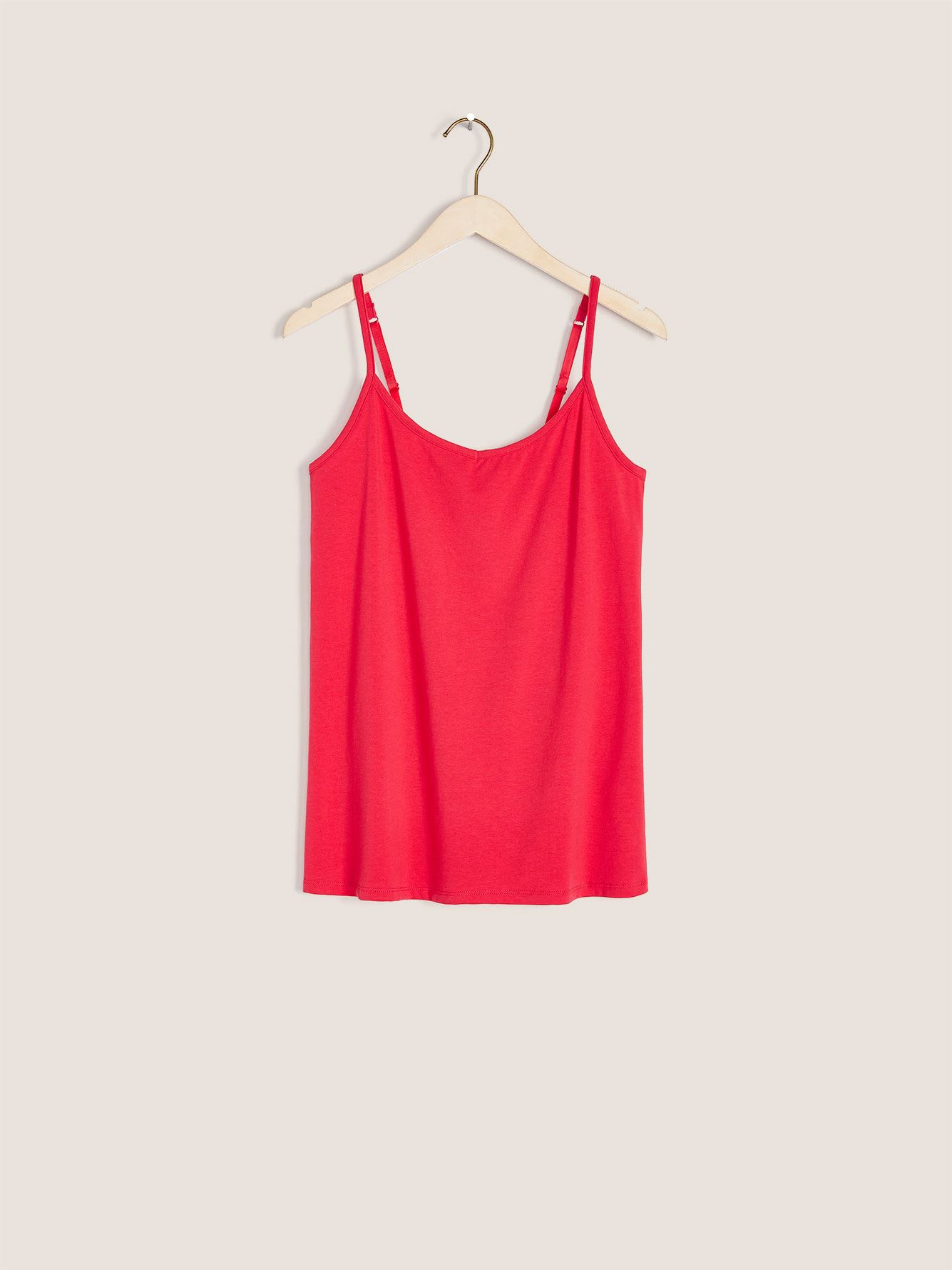 Fitted Cotton Tank Top - In Every Story
