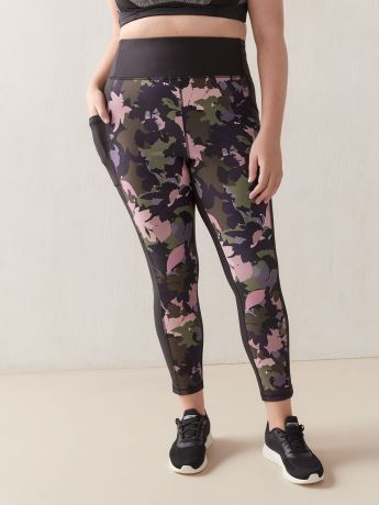 Ankle Length Legging with Side Pockets - ActiveZone
