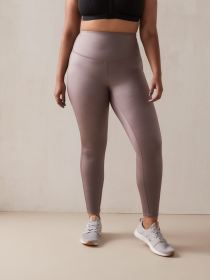 High Waist Shiny Legging - Addition Elle