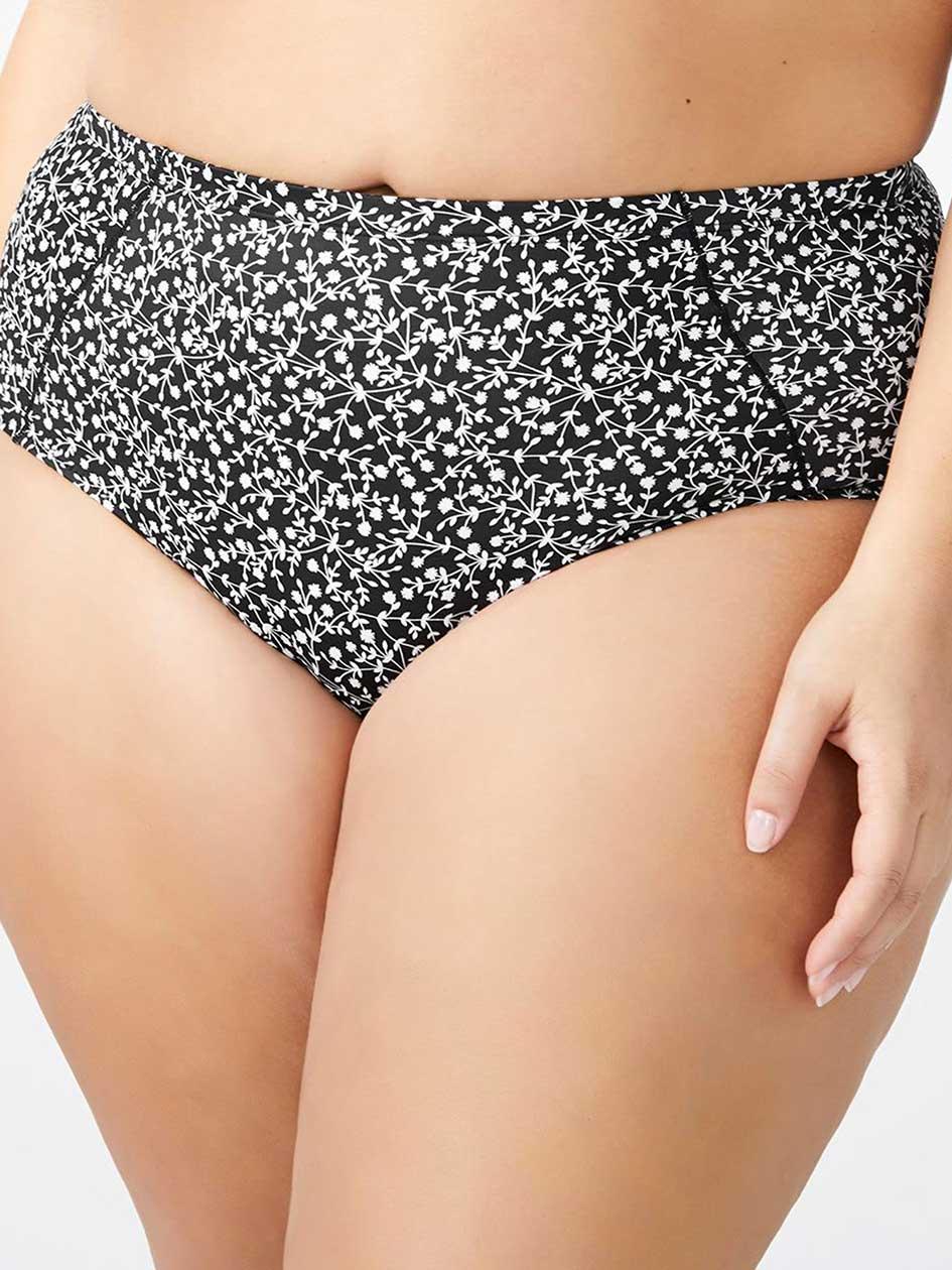 Printed Control Brief Panty - Ti Voglio