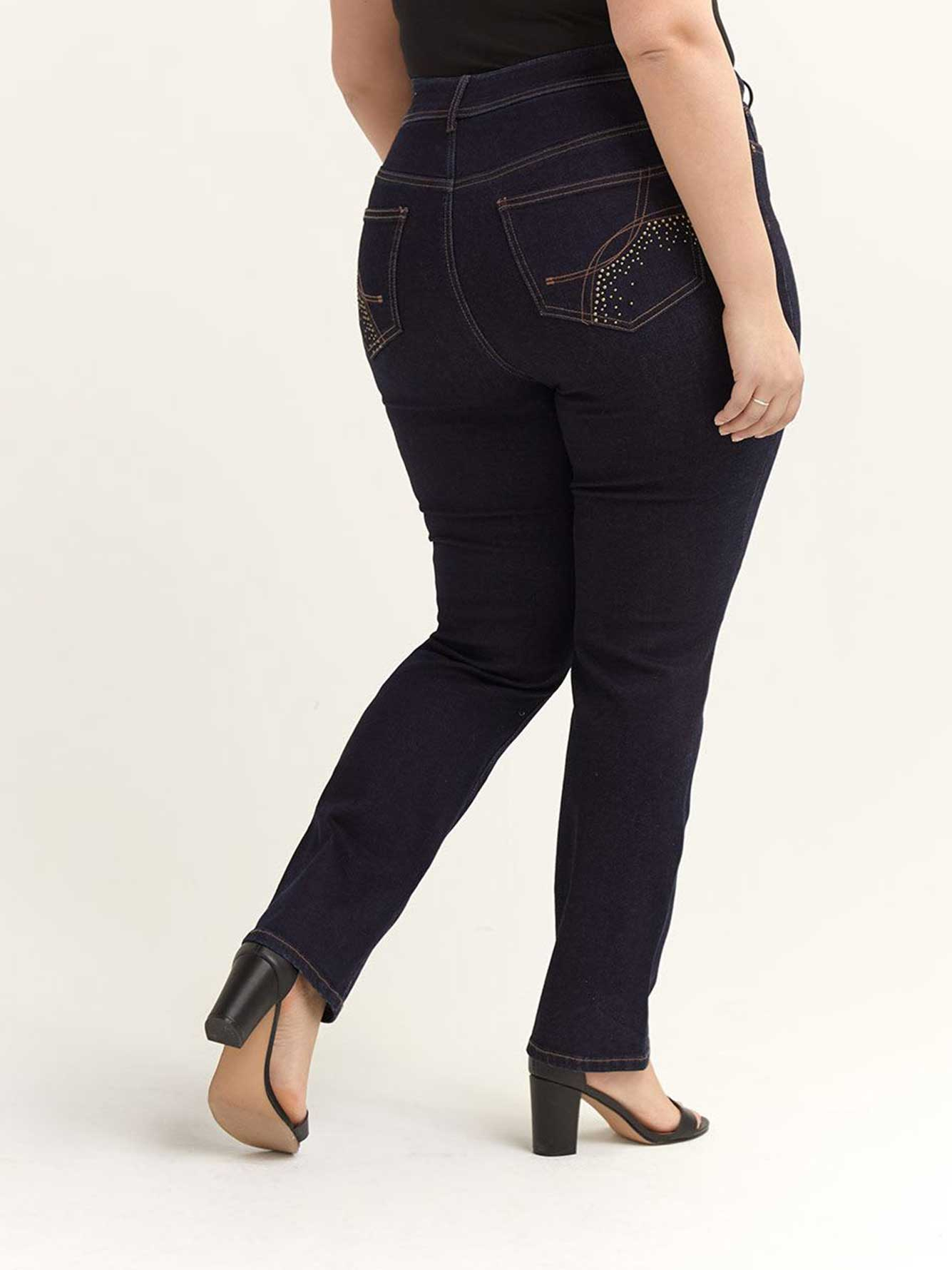 Sculpting Straight Leg Jean - d/C JEANS
