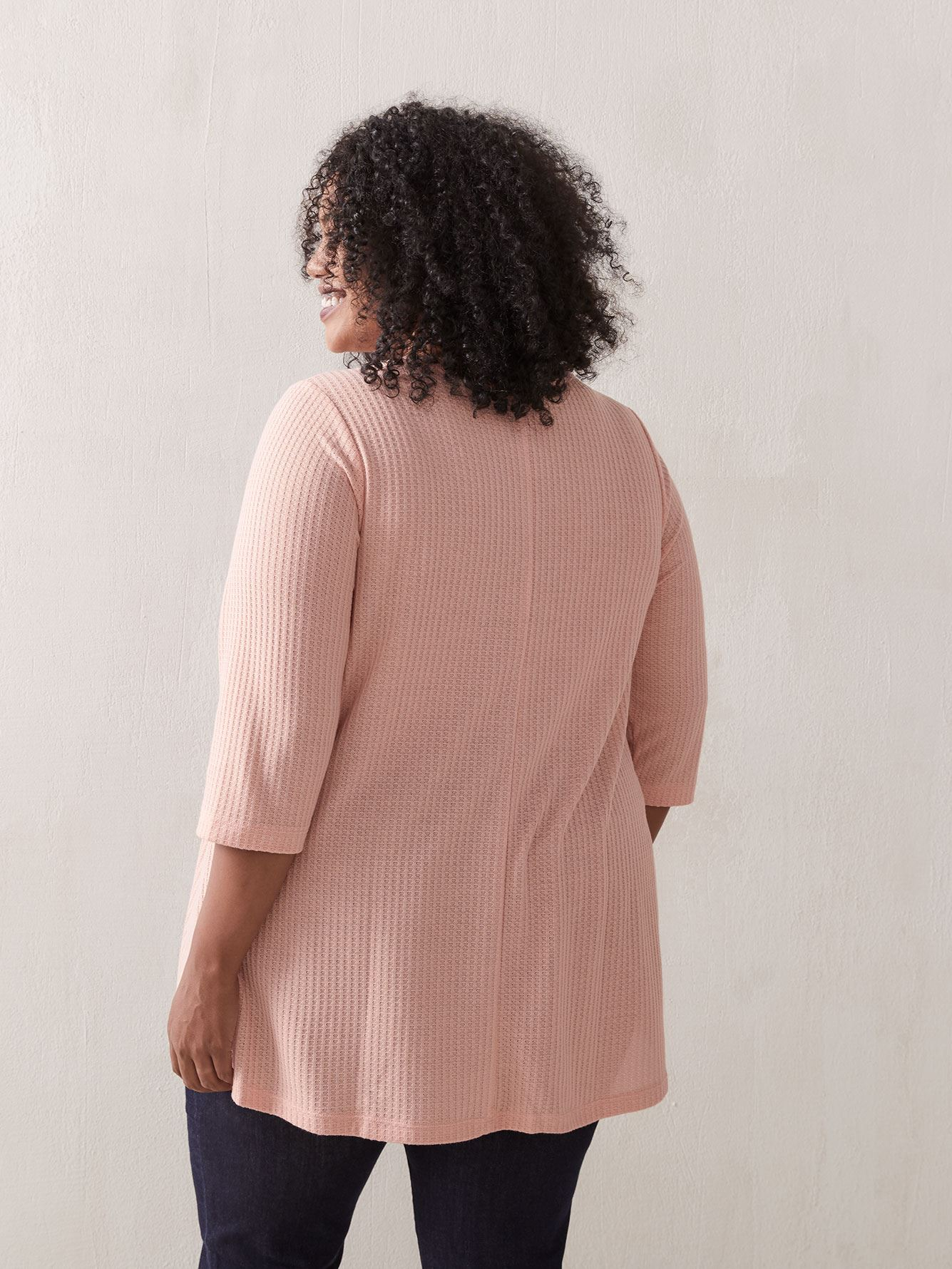 3/4 Sleeve Henley Tunic - In Every Story