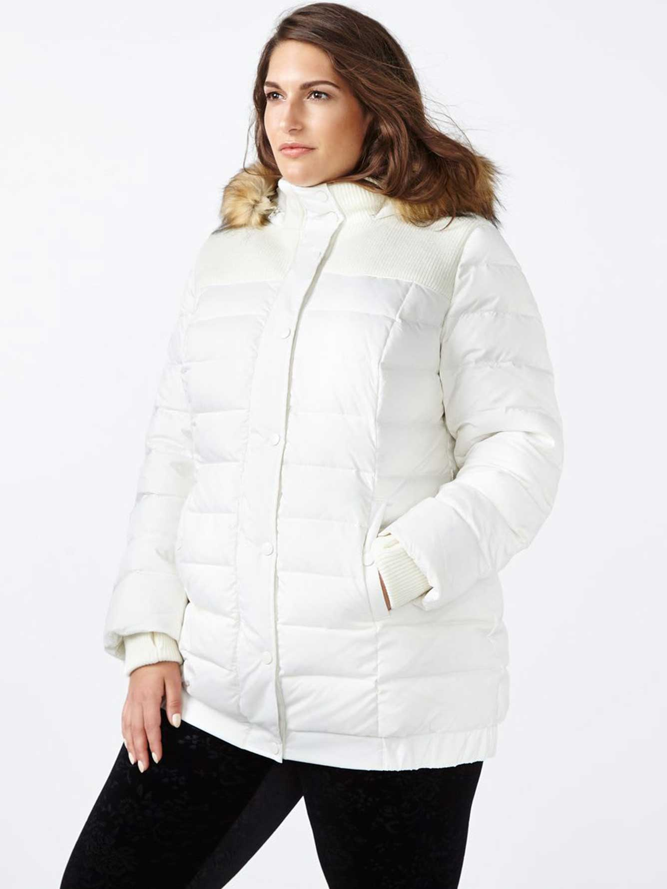 Hooded Puffer Winter Coat
