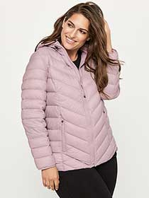 Plus Size Packable Hooded Jacket - ActiveZone