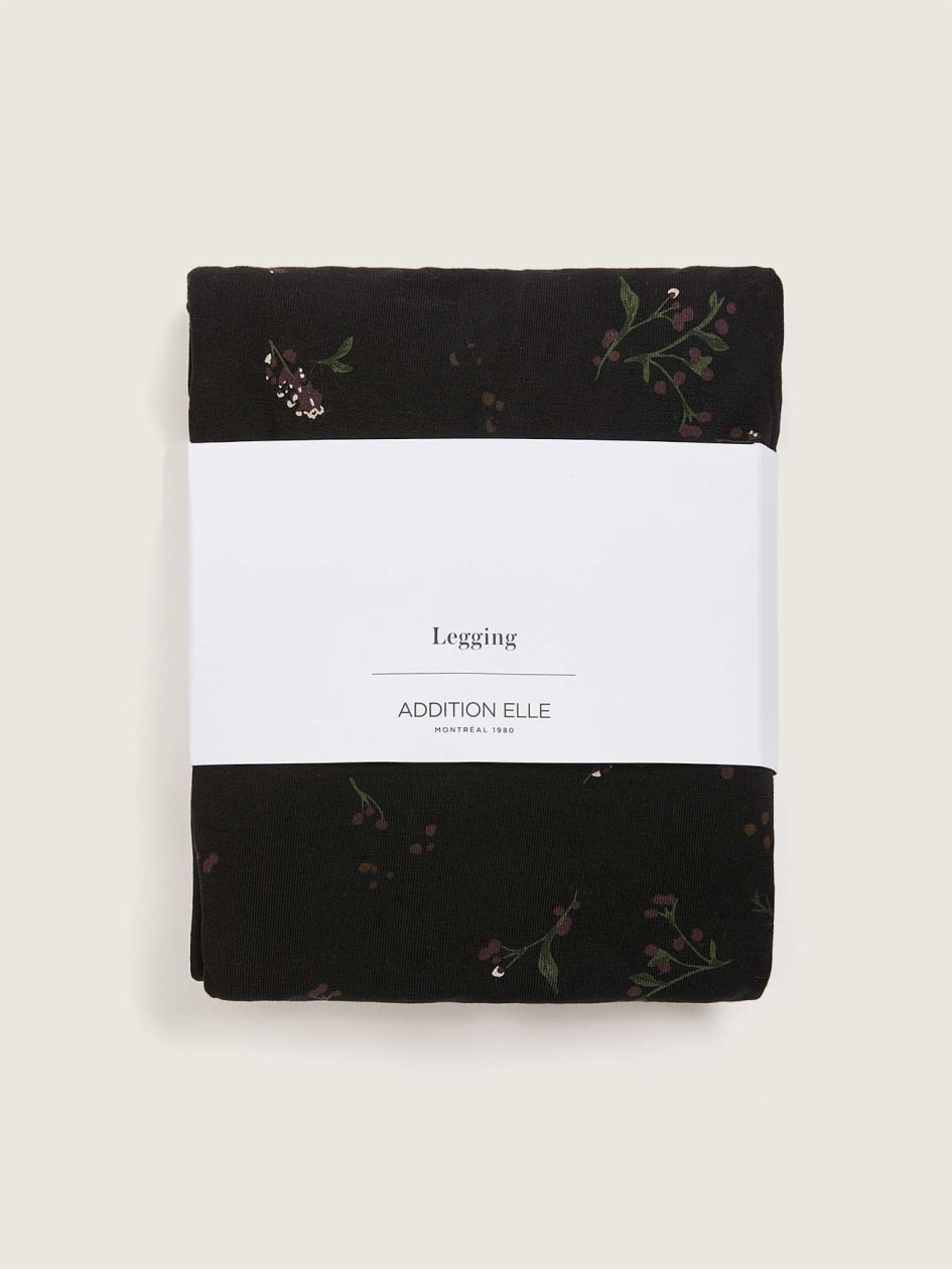 Floral Print Legging - Addition Elle