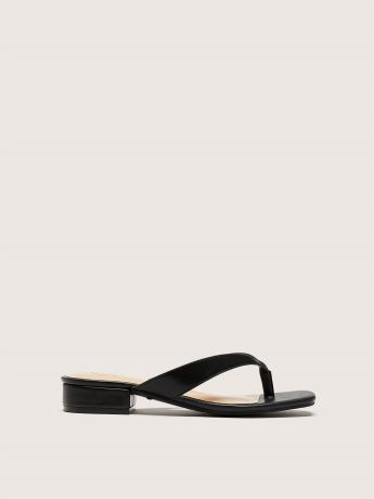 Wide Slip-On Thong Sandal - Addition Elle