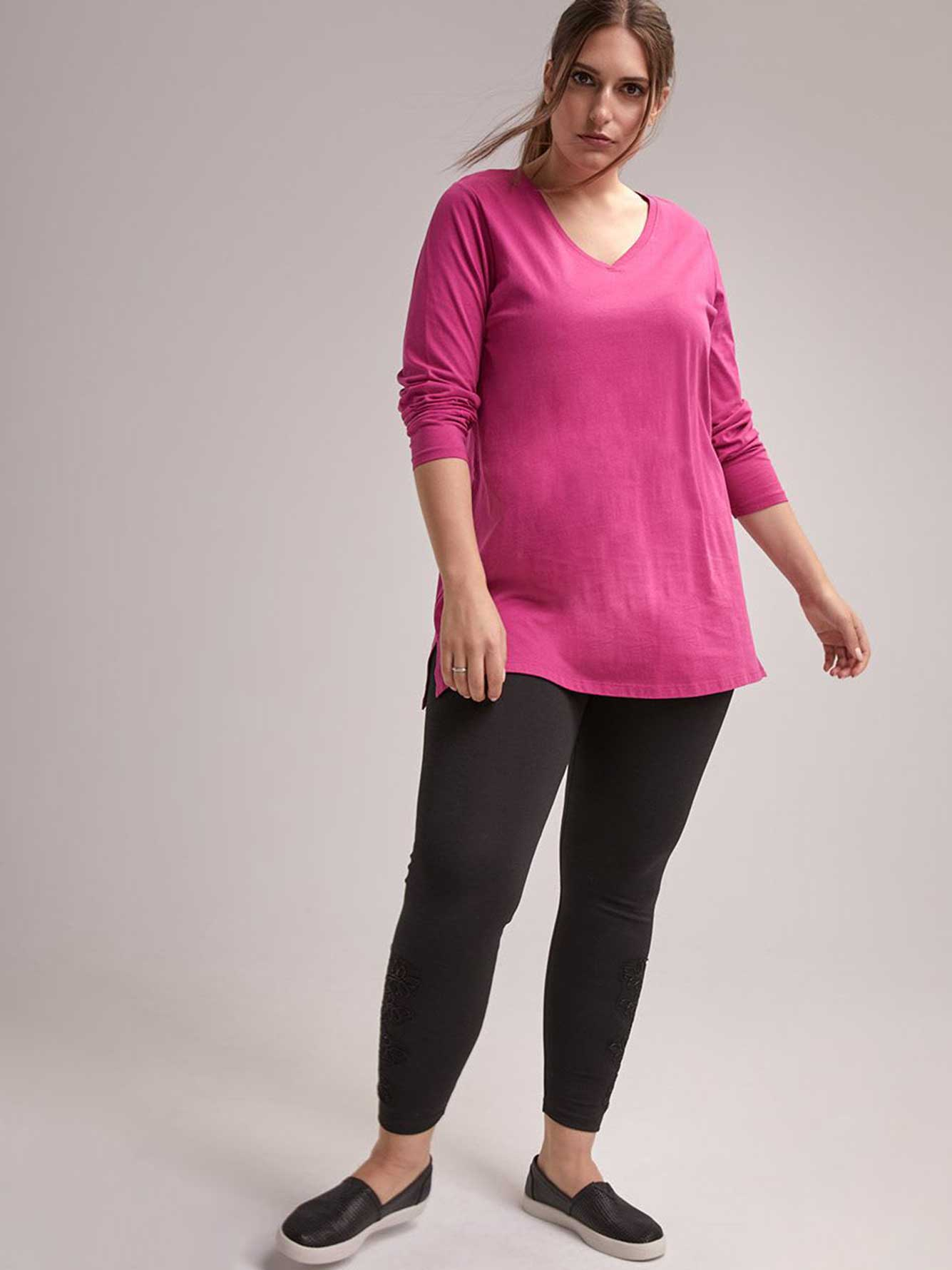 Legging with Lace Detail