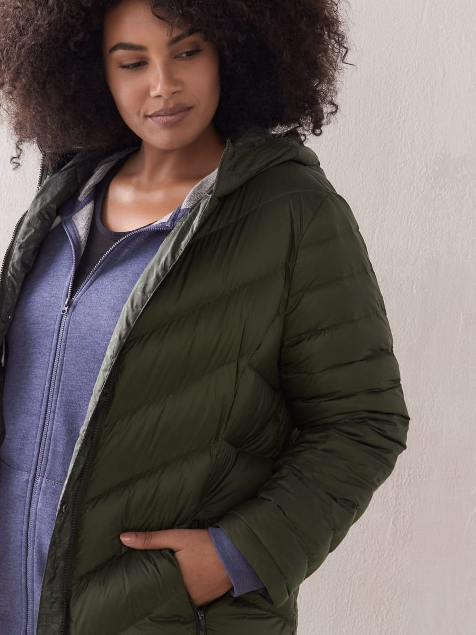 Manteau compressible réversible - ActiveZone