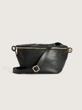 Solid Waist Belt Bag - Addition Elle