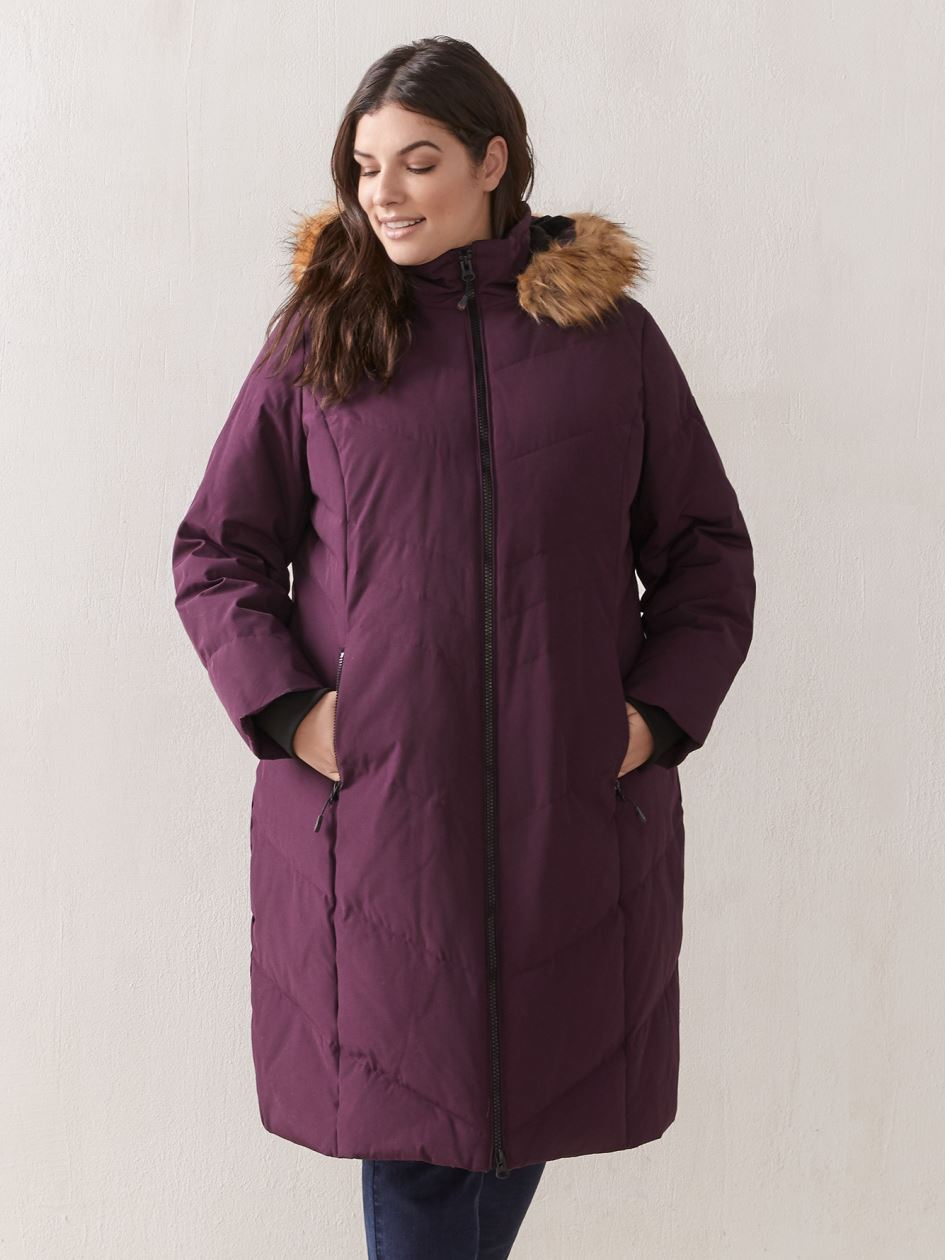 Knee-Length Winter Parka - Artic Expedition