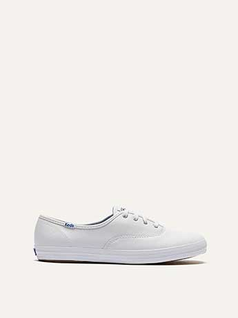 Wide Champion Oxford Leather Shoes - Keds