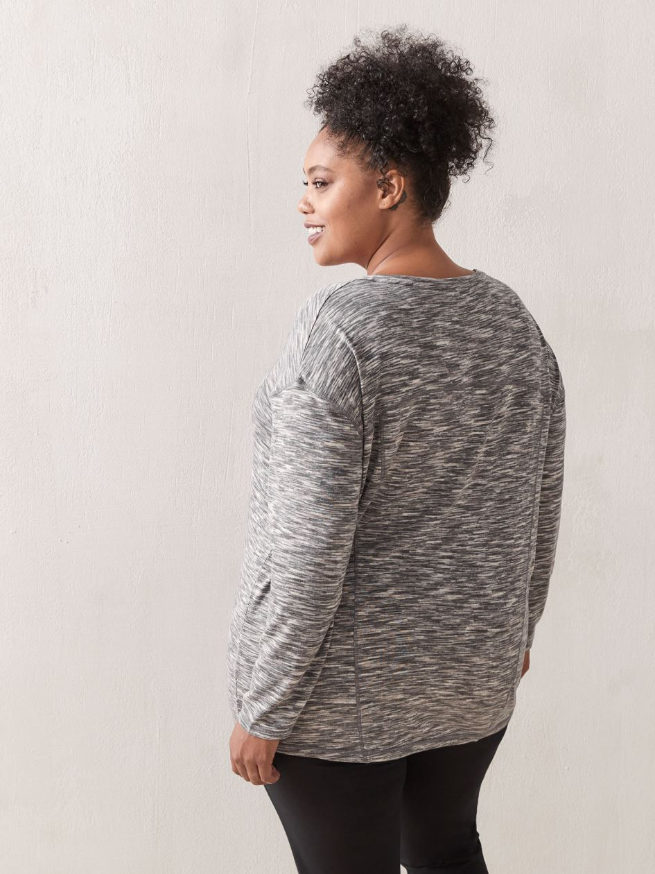 Relaxed Long-Sleeve Top - ActiveZone