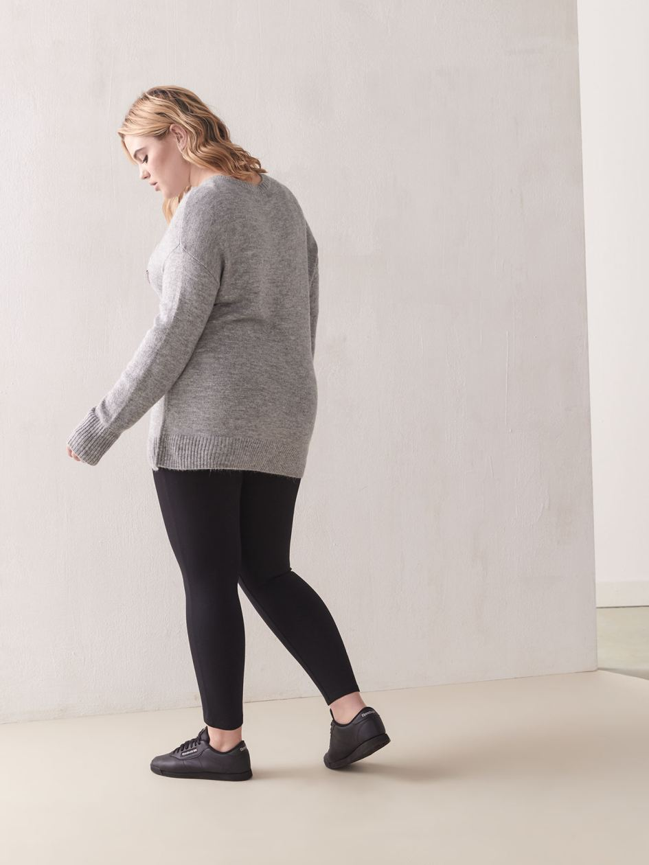 Stretch Ponte de Roma Leggings - Spanx