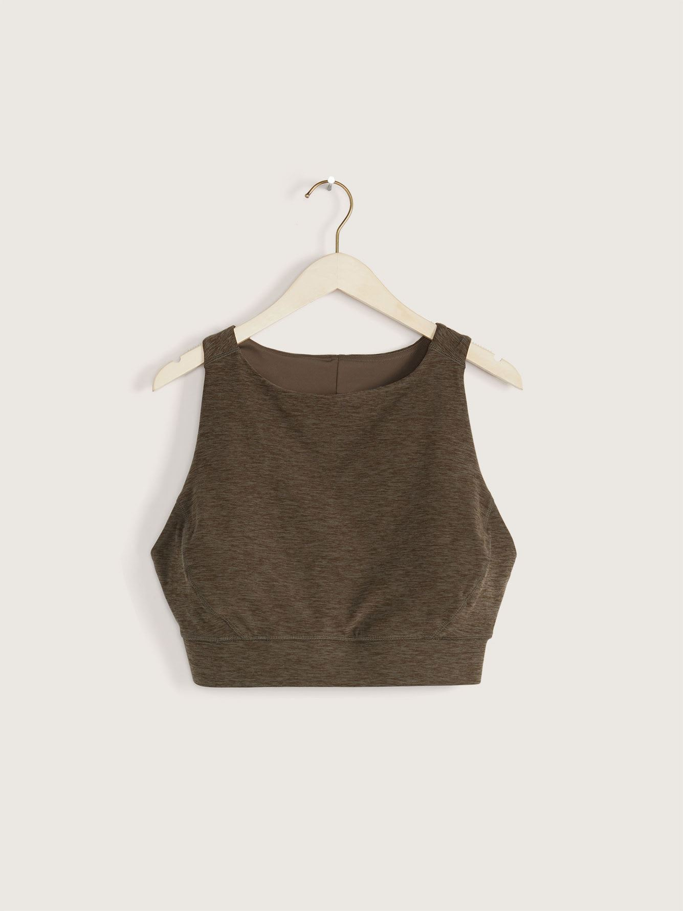 Namaste Space-Dye Crop Top - ActiveZone