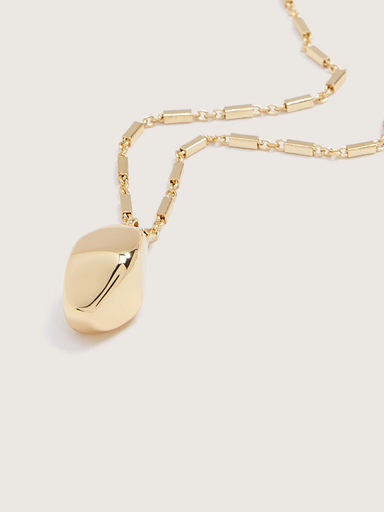 14K Gold Plated Necklace with Pendant - Addition Elle