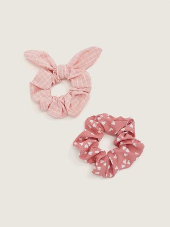 Printed Scrunchies, Set of 2 - In Every Story