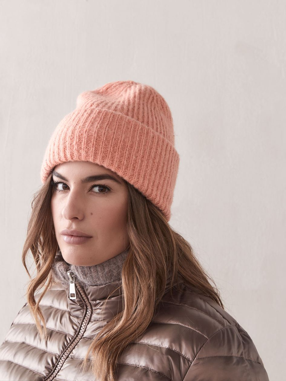 Ribbed Beanie with Wide Band - Addition Elle