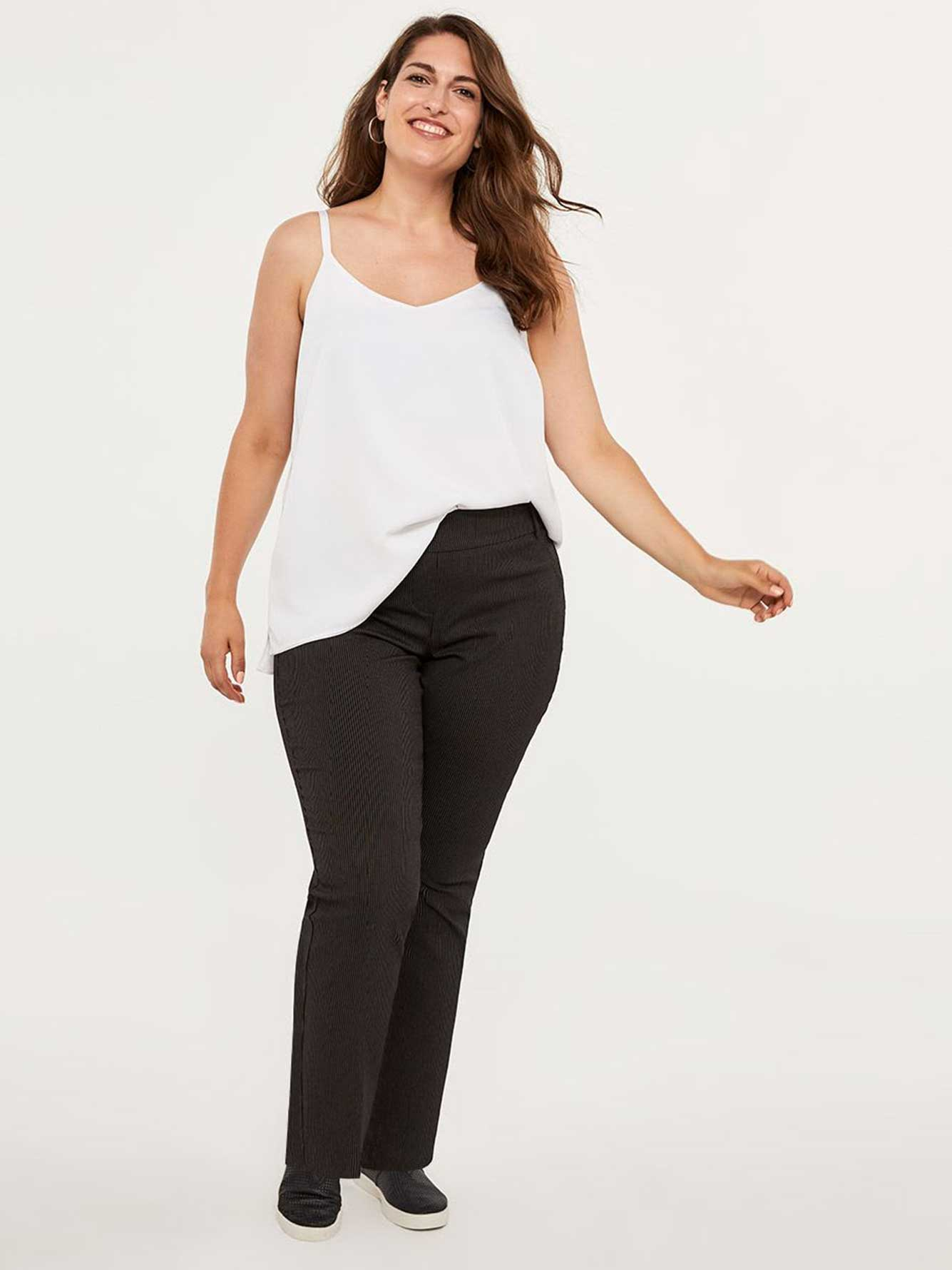 ONLINE ONLY - Tall Striped Savvy Straight Leg Pant - In Every Story