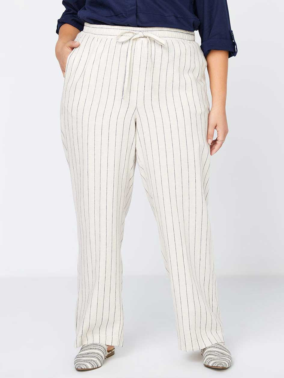 Striped Linen Pant - In Every Story