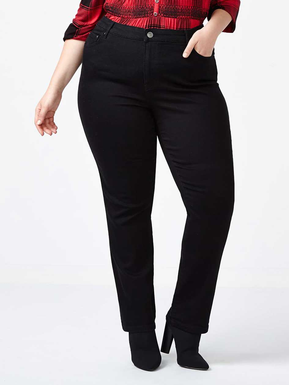 ONLINE ONLY - d/c JEANS Tall Slightly Curvy Fit Straight Leg Jean