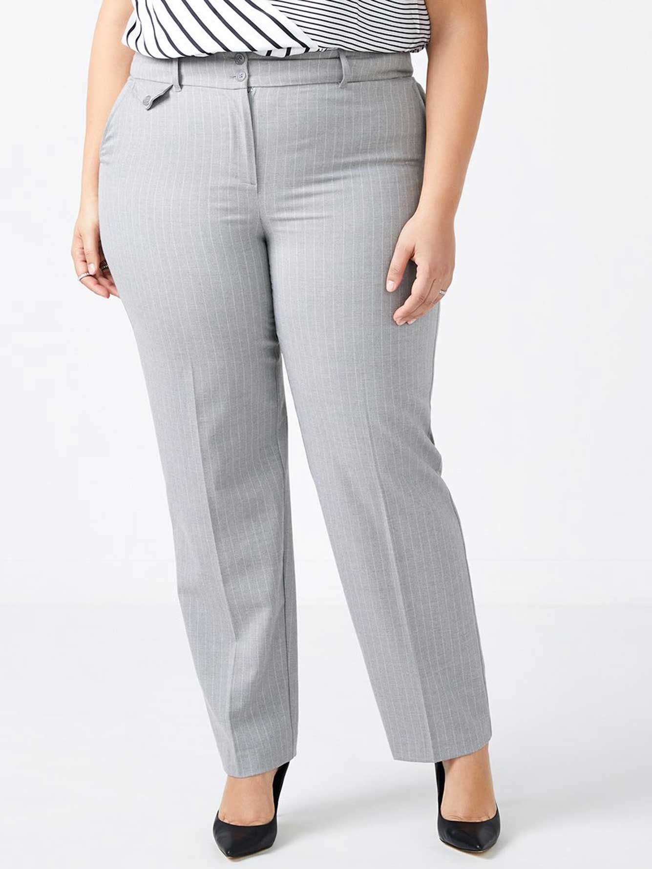 ONLINE ONLY - Tall Straight Fit Patterned Straight Leg Pant